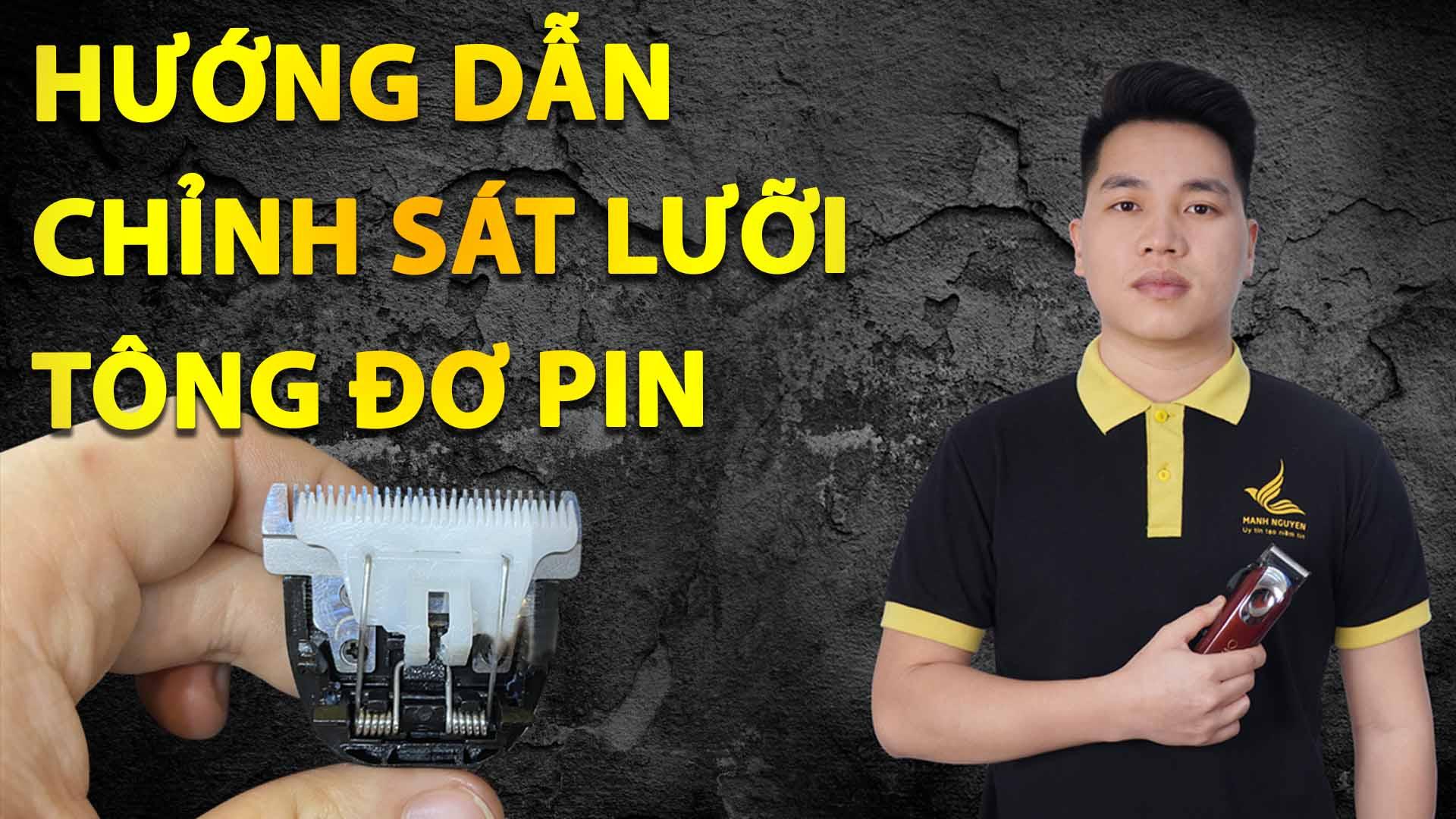 Video huong dan chinh sat luoi tong do pin, giup chan vien net