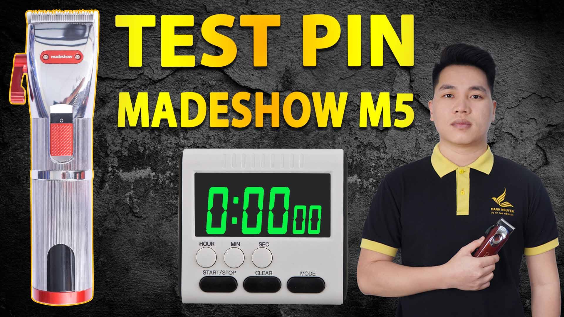 test pin tong do cat toc madeshow m5