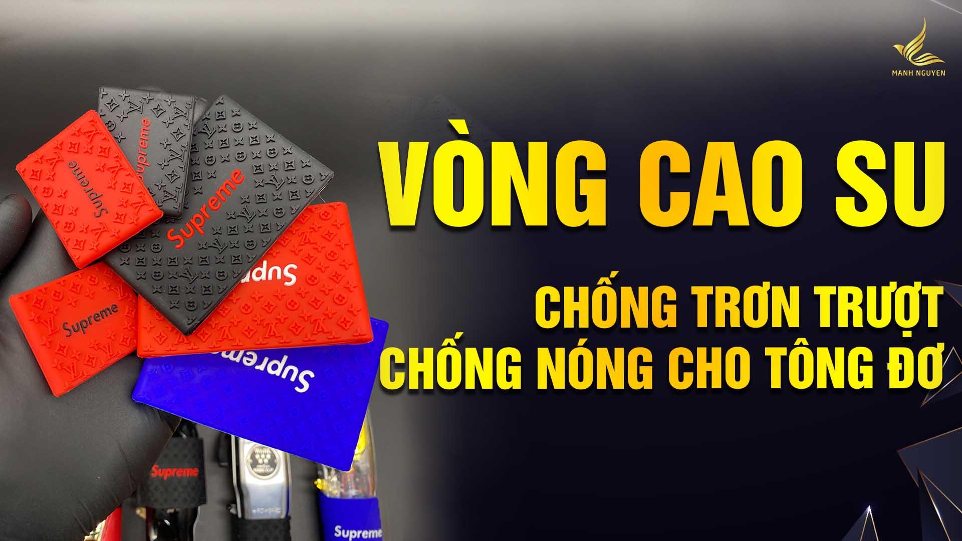 vong cao su chong tron, chong nong cho tong do.