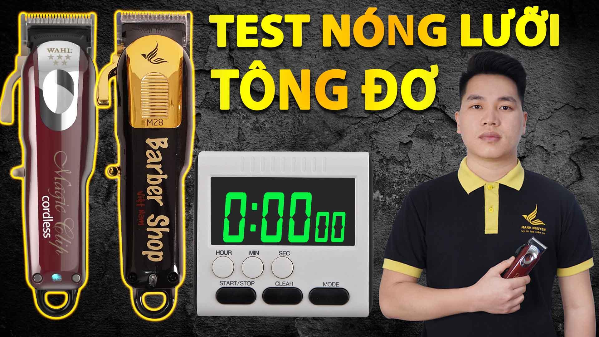 test do nong luoi tong do