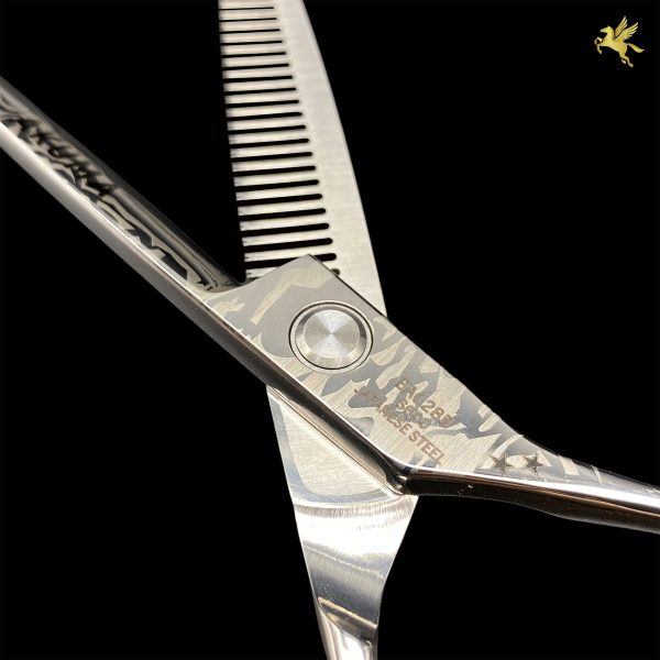 Kéo cắt tóc Akuma EAC28B (2)